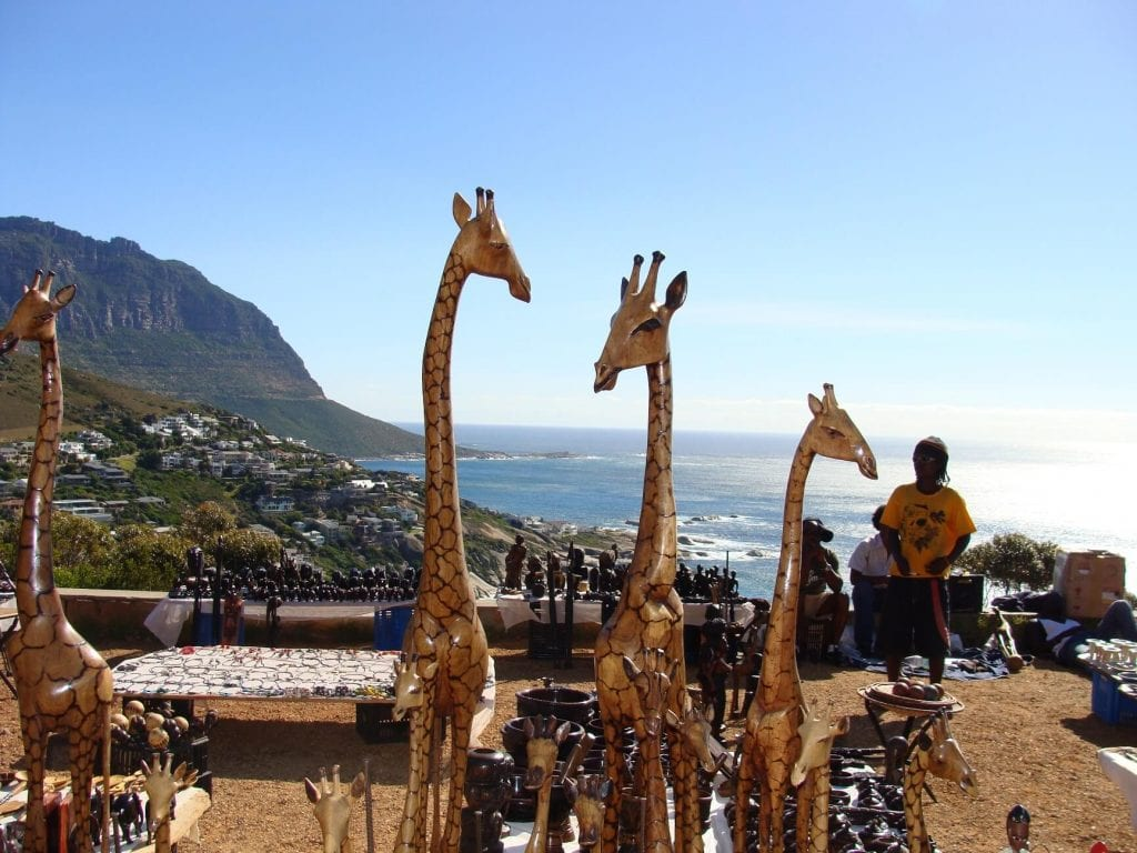 Some of the best curios are available in Cape Town